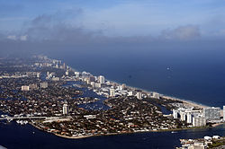 Fort Lauderdale in February 2013