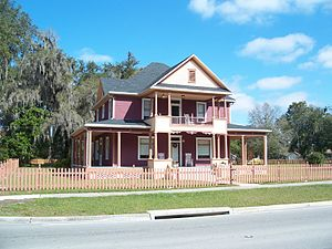 Fort Meade, Florida - The historic Reid House, built circa 1900