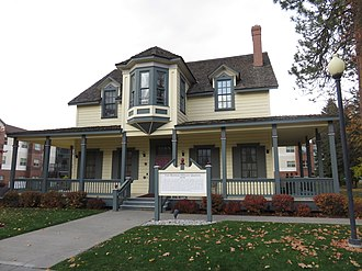 North Idaho College - Image: Fort Sherman Officers Quarters 2018
