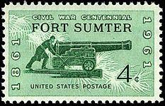Fort Sumter Centennial 1961-4c