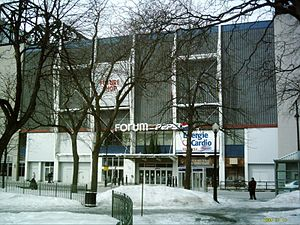 Montreal Forum - The Pepsi Forum as seen in 2009.