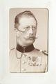 Fotografiporträtt på officer Arthur von Muellern - Hallwylska museet - 107651.tif