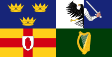 Flag of Provinces, Ireland