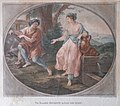 Fr. Bartolozzi after A. Kauffmann. The beautiful Rhodope in love with Aesop. 1780.jpg
