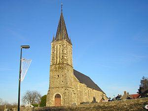 La Vacquerie - Image: France Normandie La Vacquerie Eglise