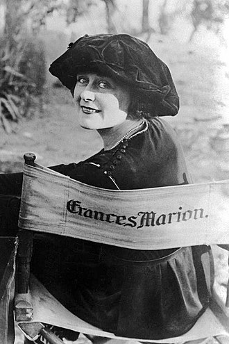 Frances Marion - Frances Marion in 1920, on the set of The Love Light, which she wrote and directed