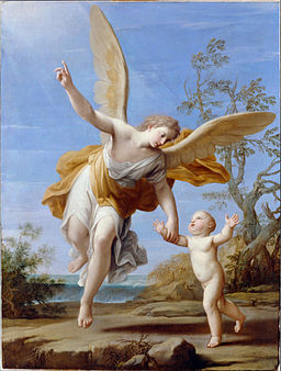 Franceschini, Marcantonio - The Guardian Angel - Google Art Project