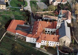 Nógrád County (former) - Franciscan Convent Szécsény – Aerial Photo