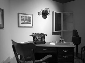 Francisco Moreno - Moreno's office at the La Plata Museum, his last post