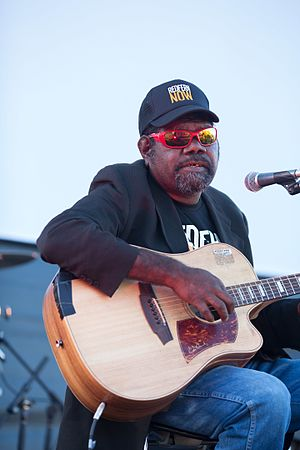 Frank Yamma - October, 2013