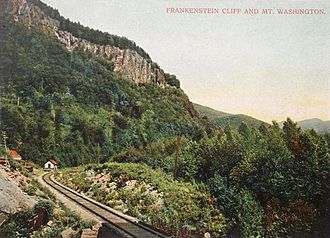 Hart's Location, New Hampshire - Frankenstein Cliff c. 1905