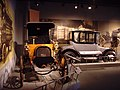 Franklin 1905 Aircooled Runabout and Detroit Electric Brougham 1915.jpg