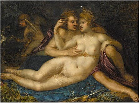 Frans Badens (Attr.) - Mars and Venus with Cupid.jpg