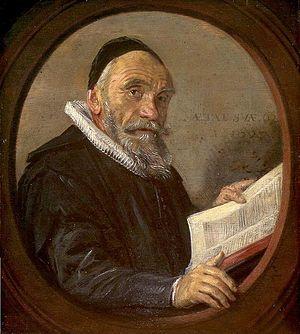 Johannes Acronius - Portrait of Johannes Acronius by Frans Hals