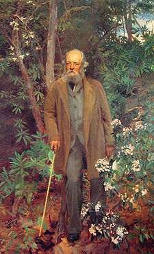 Frederick Law Olmsted, 1895, oil on canvas, 91 x 61 1/4 in.