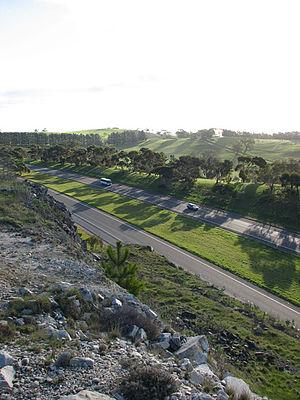 South Eastern Freeway - South Eastern Freeway from Mount Barker Summit