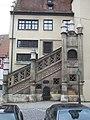 Freitreppe am Rathaus in Nördlingen - panoramio.jpg
