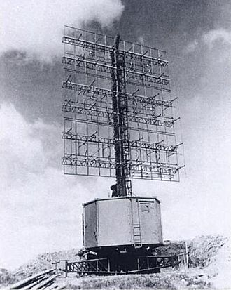 History of radar - The German Freya worked at higher frequencies, and was thus smaller than its Chain Home counterpart.