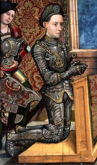 Frederick I, Margrave of Brandenburg-Ansbach - Image: Friedrich II.Markgraf