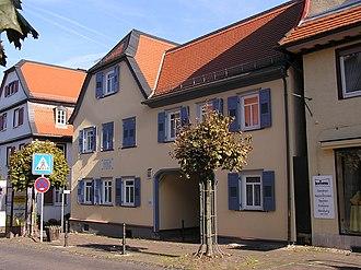 Johann Philipp Reis - Reis' home in Friedrichsdorf, now a museum