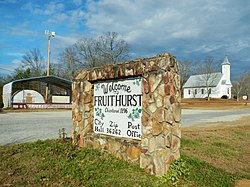 Fruithurst (Alabama).