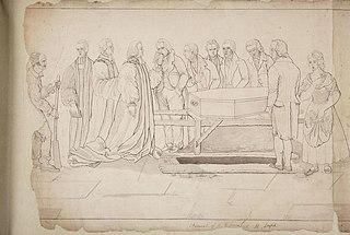 Funeral of R.R. Jones at St Asaph