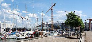 Lilla Bommen - The marina at Lilla Bommen in Gothenburg