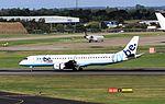 G-FBEK Embraer 190 Flybe BHX 29-09-16 (30639368472).jpg