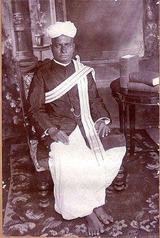 Pudukkottai State - G. Krishnaswamy Iyer, The last Diwan of Pudukkottai State