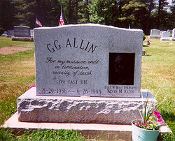 GG Allin And The Scumfucs Artless GG Allin And The Scumfucs Artless