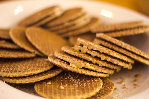 You could have (near) unlimited amount of stroopwafels, thanks to the Dutch influence in Indonesia for 350 years, if you ask very nicely! (And of course if Solo is chosen as Wikimania 2013 host!)