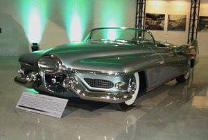 General Motors Le Sabre - GM Heritage Center - 117 - Motorama Cars - LeSabre Concept