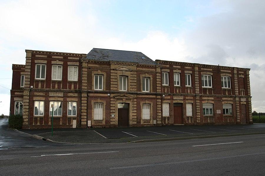 Ancienne mairie-école de Gainneville.