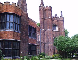 Gainsborough Old Hall - Image: Gainsborough Old Hall tower