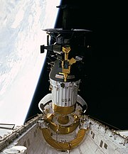 Hughes' Galileo probe being deployed
