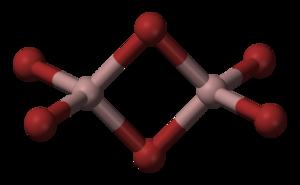 Gallium(III) bromide - Image: Gallium bromide 3D balls
