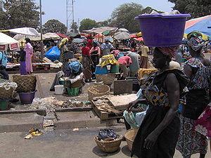 Serekunda - Image: Gambia Serekunda world 66 2