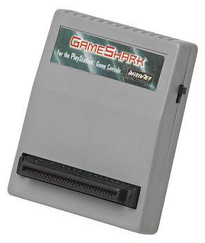 GameShark - The original hardware-based GameShark for the PlayStation.