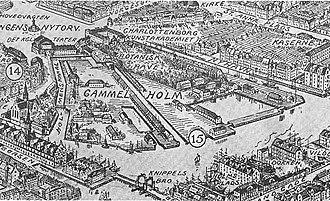 Gammelholm - Gammelholm in c. 18401900