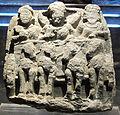 Gandhara, rilievo con trasporto delle reliquie.JPG