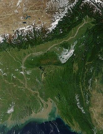 Northeast India - Brahmaputra plain and Eastern Himalaya in Northeast India