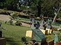 Garden infront of the raj mahal.JPG