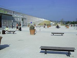 Gare d'Avignon TGV - Image: Gare d'Avignon TGV