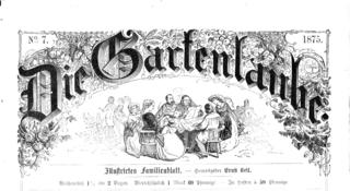 <i>Die Gartenlaube</i> German magazine