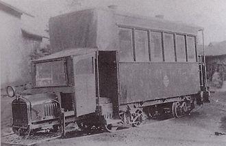 Tōhoku Main Line - The railcar used on the Tsukinoki to Tateyama line
