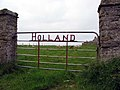 Gate into a field adjacent to Holland farm - geograph.org.uk - 286069.jpg