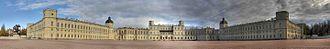 Gatchina Palace - Gatschina-Schloss 2010 Panorama Front