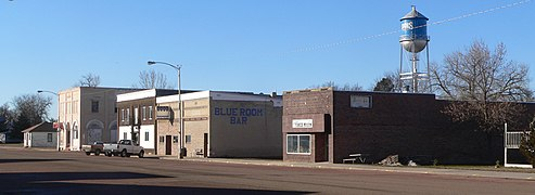 Geddes, South Dakota, Main Street, W side, S of 3rd Street 1.JPG