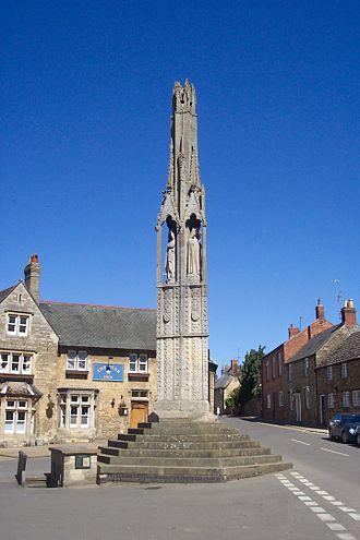 Geddington - The Geddington cross