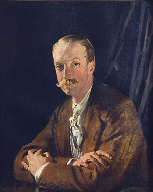 Geoffrey Taylour, 4th Marquess of Headfort - Geoffrey Taylour, 4th Marquess of Headfort (William Orpen, 1915)